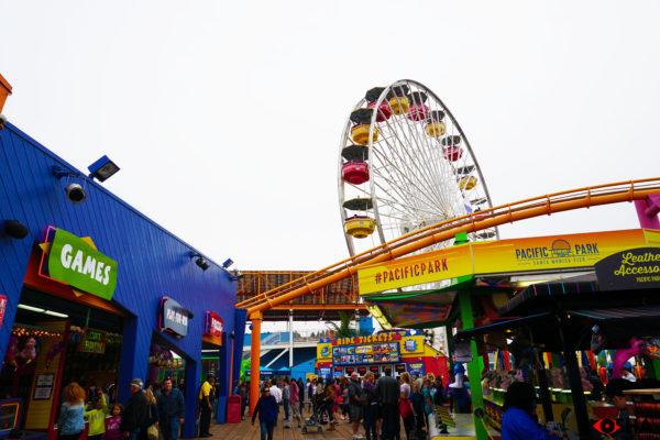 Pacific Park Ferris Wheel Santa Monica